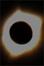 icon of 2017 solar eclipse near Riverton WY